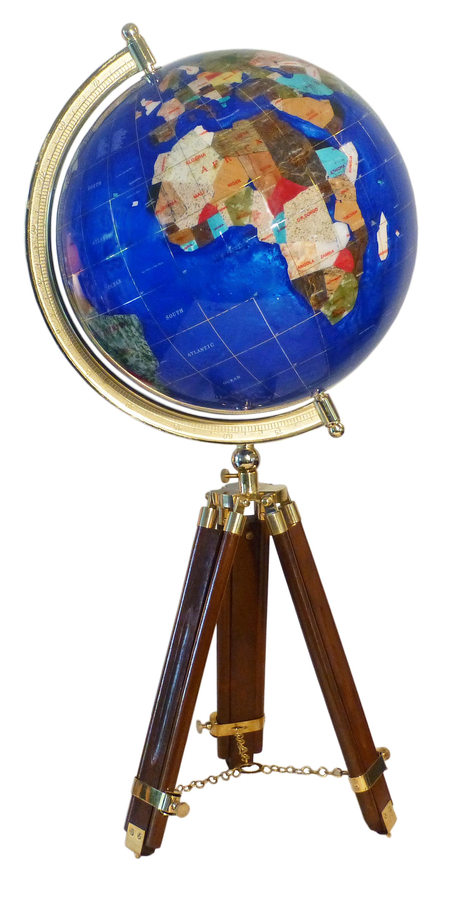 globe terrestre de bureau 33 cm bleu cambridge tr pied bois gemmoglobe 1pb 33 b bleu c. Black Bedroom Furniture Sets. Home Design Ideas