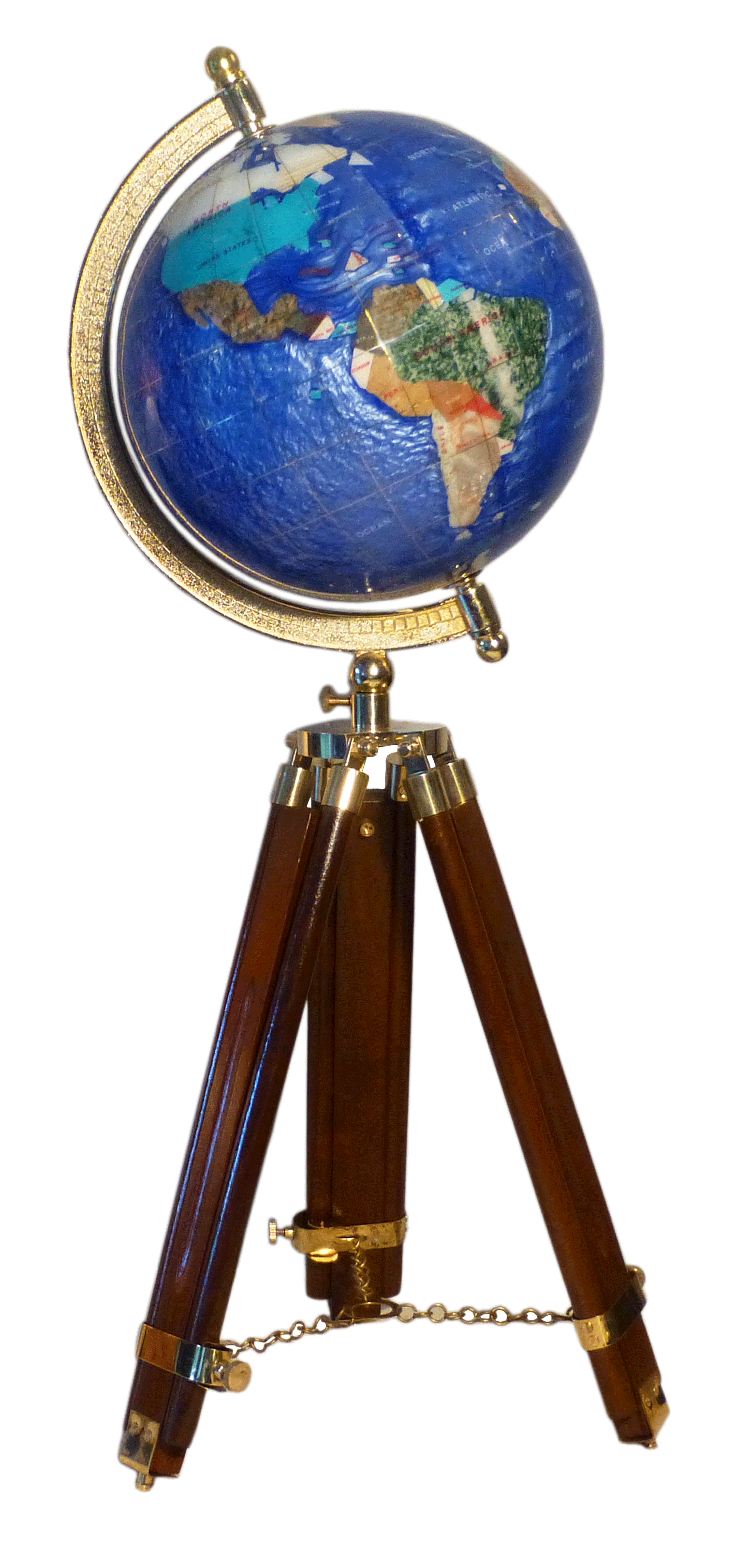 globe terrestre de bureau 22 cm bleu cambridge tr pied bois gemmoglobe 1pb 22 b bleu c. Black Bedroom Furniture Sets. Home Design Ideas